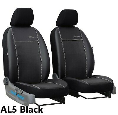 TOYOTA RAV4 HYBRID Mk4 2016 PRESENT LEATHER ALCANTRA FRONT SEAT COVERS TAILORED