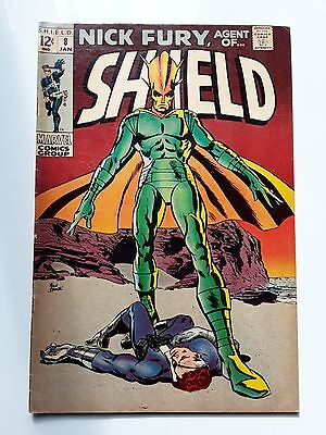Nick Fury Agent of Shield 8 Silver Age Marvel