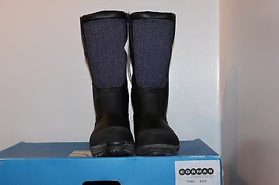 Cosmas Titan Structural Fire Fighting Boot New US size 9.5 Wide or X wide