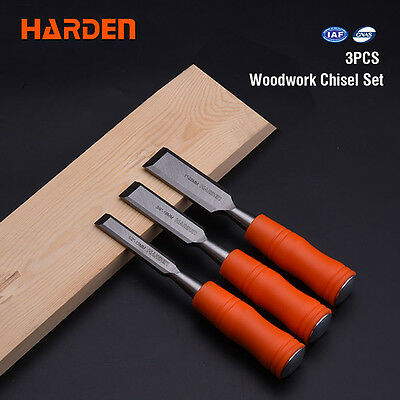 Harden 3 Piece Wood Chiesel Set