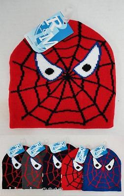 Wholesale 144pc Childrens Spider Web Spider Eyes Winter Knit Beanie Hats