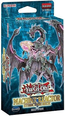 41-Card Machine Reactor Structure Theme Deck Yugioh | Sealed Genuine English