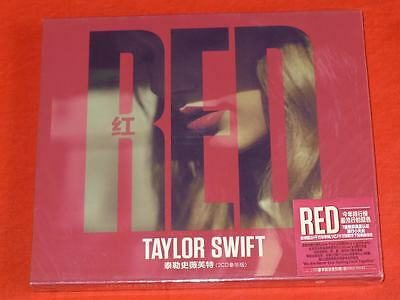 RED [Deluxe Edition] by TAYLOR SWIFT 2CD  (Chinese Edition)