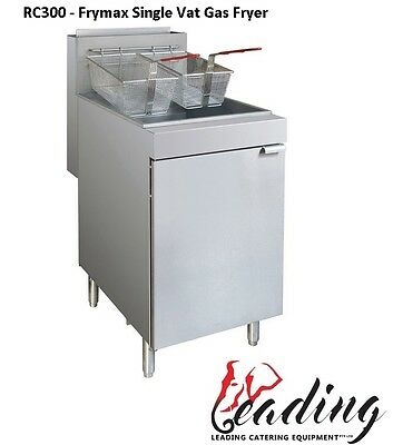 Superfast Natural Gas Tube Fryer - 3 buners