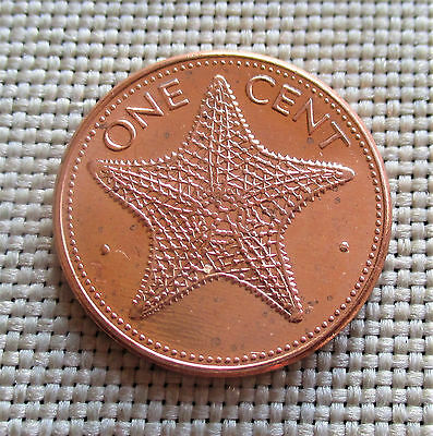 1 Cent Bahamas 1989 - Starfish #5565