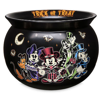 DISNEY Parks HALLOWEEN 2017 CANDY BOWL Cauldron MICKEY & FRIENDS New