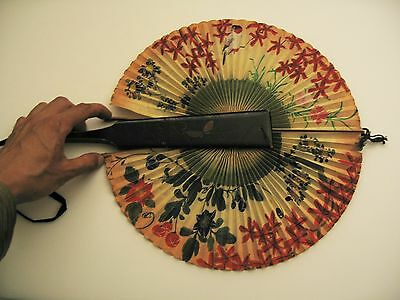 Antique  Special style Japanese fan