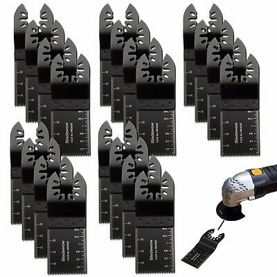 20pcs Oscillating Multi Tool Saw Blade Set For Fein Multimaster Decker Dewalt
