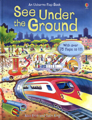 An Usborne flap book: See under the ground: with over 75 flaps to lift by Alex