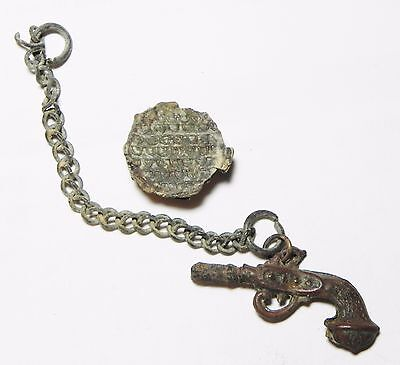 Zurqieh - Aa7418- Holy Land. Lot Of Two Items. One Is Ancient.