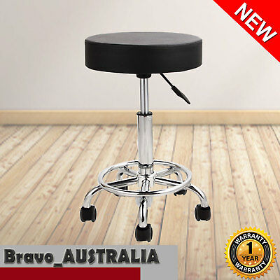 Salon Stool Swivel Saddle Hairdressing Barber Beauty Spa Chair Hydraulic Lift