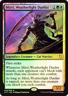 Foil - MIRRI, DUELLANTE DELLA CAVALCAVENTO - MIRRI, WEATHERLIGHT DUELIST Magic C