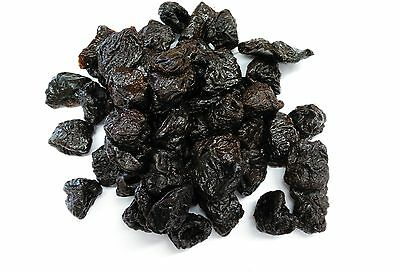 Prunes Pitted Dried, Grade A Premium Quality, Free UK P&P
