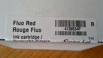 SURE.JET 4139534P Fluo Red High Capacity Ink Cartridge NEW NEVER OPENED