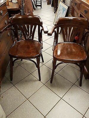 Nice pair antique chairs