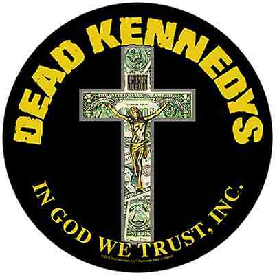 DEAD KENNEDYS - In God We Trust - BACK PATCH