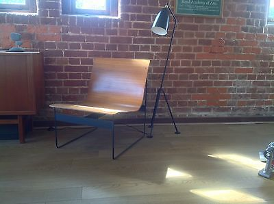 Günter Renkel Plywood And Metal Chair for Rego Mid Century 1959