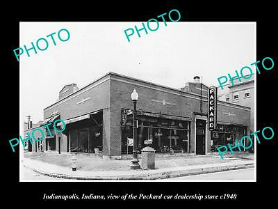 old large historic photo of pensacola florida studebaker packard store c1940 aud. Black Bedroom Furniture Sets. Home Design Ideas