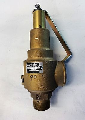"Jayco 1.5"" X 2"" Bronze Safety Relief Valve, Fig# 150"