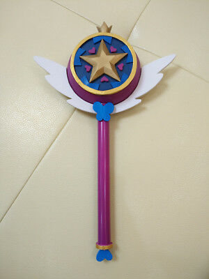 Star vs. the Forces of Evil Cosplay Prop Princess Magic Wand Stick Girl Toy Gift