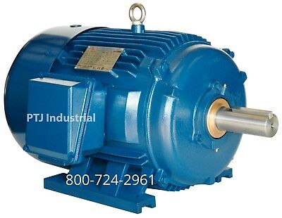 250hp electric motor 449T severe duty 1200 rpm insulated bearing for vfd