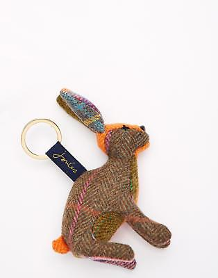 Joules Tweedle Novelty Keyring in Hare in One Size