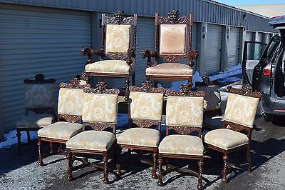 Fine set 10 RJ Horner Style Dining Chairs