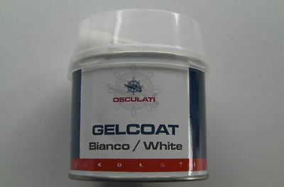 Gelcoat Filler, 200g Tin, BRIGHT WHITE, CAN ALTER SHADE TO MATCH OLD GEL COATS.