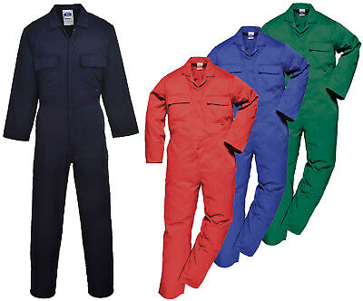 Mens Portwest Euro Coverall | Workwear Overall Boiler Suit | S999