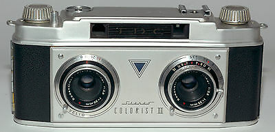TDC Stereo Colorist II 35mm film camera cleaned lubricated and adjusted.