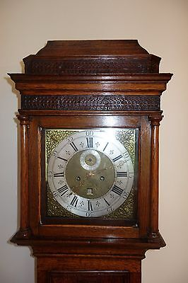 Free Delivery 100 Miles - 17th/18th Century Grandfather Longcase Clock No. 195