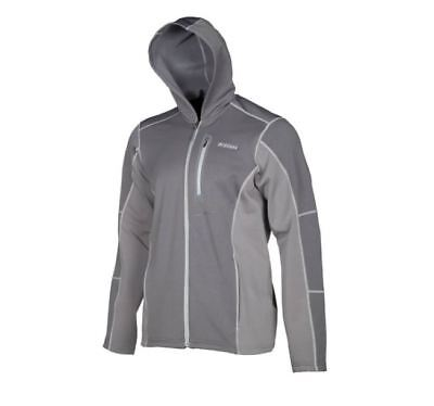 Klim Gray Inferno Layering Hooded Zip Up Jacket L XL 2X 3X 3796-000-140-660
