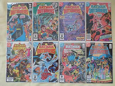 Batman & the Outsiders.........1-46 complete set + Annuals
