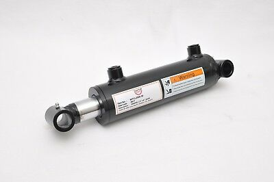 """2.5"""" Bore x 6"""" Stroke Welded Cross Tube Tie Rod Cylinder 3000 PSI, SAE Ports"""