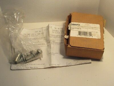 Cutler Hammer Ds66Fk Class R 600A Fuse Adapter Kit New