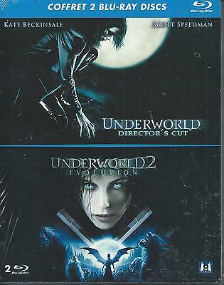 Underworld + Underworld 2 Evolution Blu-ray NEUF sous blister