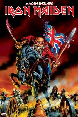IRON MAIDEN ~ MADE IN ENGLAND EDDIE 24x36 MUSIC POSTER North America Tour 2012