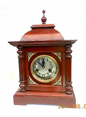 Antique mantle clock that has been refurbished. Working well.