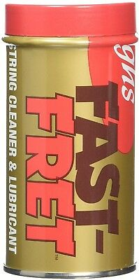 GHS Fast Fret Guitar String Cleaner And Lubricant