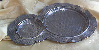 Silver Plate Serving Tray - Hartford Silver Plate Co. #105