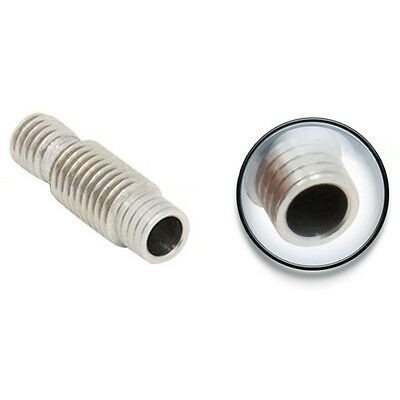 CO_ 3D Printer Heat Break Hot End Throat with Tube for 1.75mm 3.00mm Filament Ea