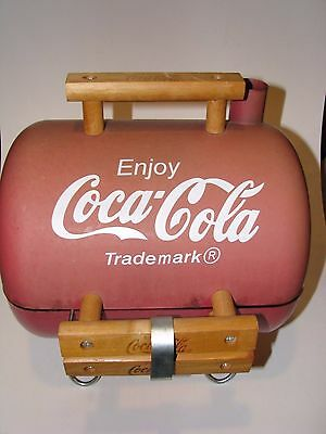 Coca Cola  Barbeque     BBQ  Tailgating Football Coke Sign - RARE