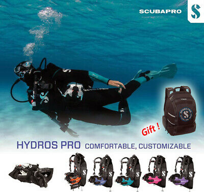 Scubapro Hydros Pro Women's BCD w/Balanced Inflator,Seven Colour- FREE SHIPPING