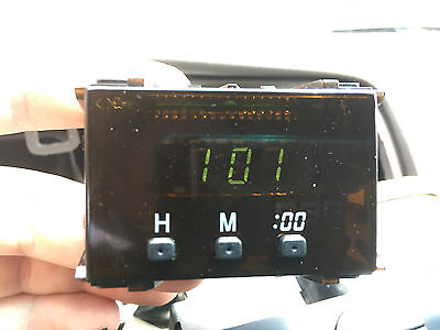 Toyota 4Runner OEM Digital Clock TESTED 1996 1997 1998 1999 2000 2001 2002