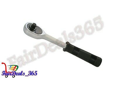 Brand New 1/4 Inch Drive Extending Ratchet Handle Socket Wrench Heavy Duty