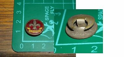 boy scout antico stemma pin spilla distintivo be prepared made in  london