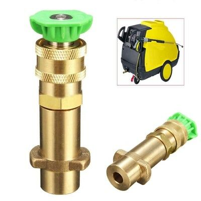 Car Pressure Washer Lance Sprayer Gun Adapter + Nozzle Kit