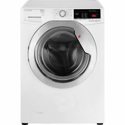 Hoover WDXOA496C Dynamic Next Free Standing 9Kg Washer Dryer White New from AO