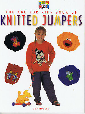 THE ABC FOR KIDS BOOK OF KNITTED JUMPERS - KNITTING PATTERN BOOK elmo SPOT
