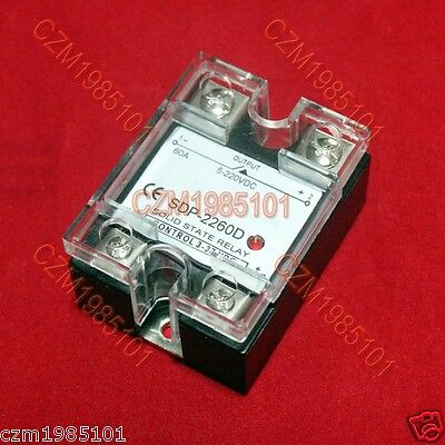 Solid State Relay SSR DC-DC 3-32VDC/24(5)-220VDC 60A Replace Crydom D2D60
